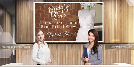 Reno Bridal & Beauty Expo , FREE, VIRTUAL EVENT, October 18, 2020 tickets
