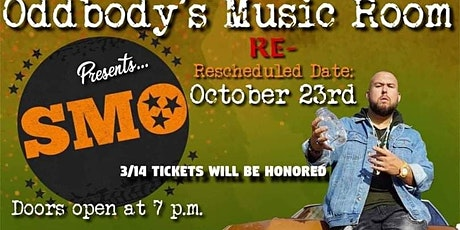 BIG SMO LIVE AT ODDBODYS MUSIC ROOM tickets