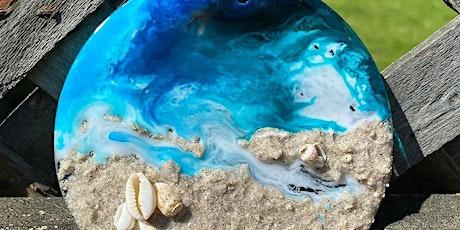 Resin Beach Art Frame or Sun Catcher tickets