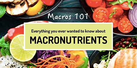 Live Masterclass: Macros 101 tickets