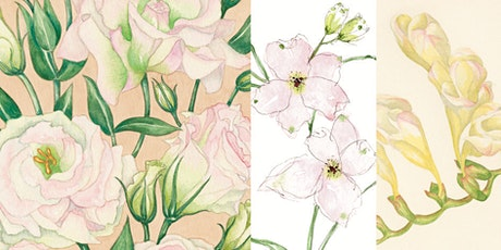'Flowers: Pastel Shades' Watercolour Workshop tickets