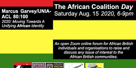 The African Coalition Day 2020: The 'Have Your Say' Forum tickets
