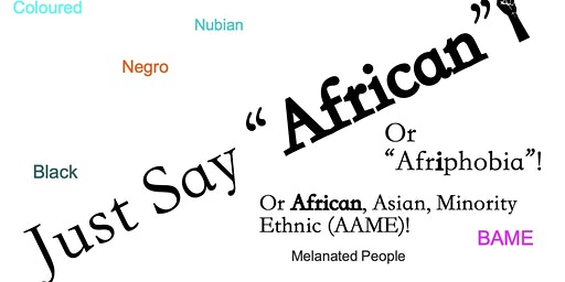 African History Reflection Day: Interrogating Language Of Identity