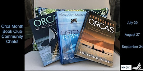 Orca Month Book Club: Community Chat tickets
