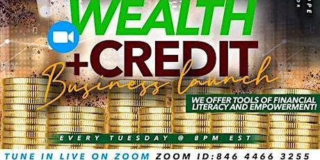 Wealth & Credit - Changing Your Future outlook tickets