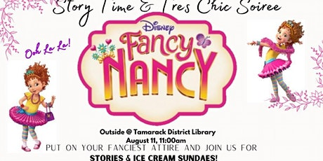 Story Time & Tres Chic Soiree tickets