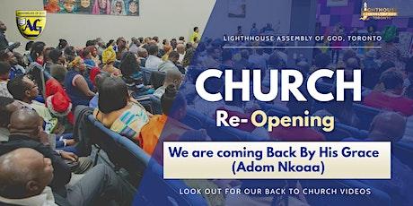 Lighthouse Assembly of God Church Sunday Service tickets