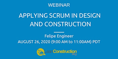 Applying SCRUM in Design and Construction tickets