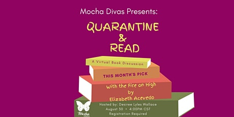 Mocha Divas Presents: Quarantine & Read - A Virtual Book Discussion tickets