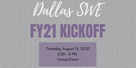 Kick-off FY21 with the Dallas SWE Officers tickets