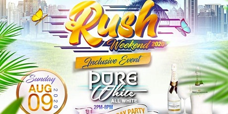 RUSH WEEKEND tickets