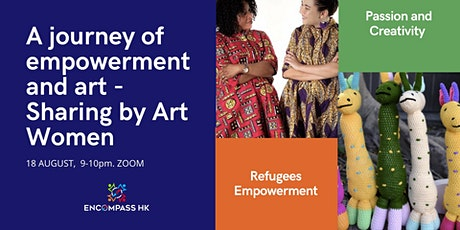 A journey of empowerment and art - sharing by Art Women tickets