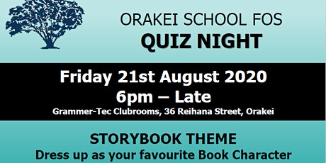 Friends of Orakei School - Quiz Night tickets