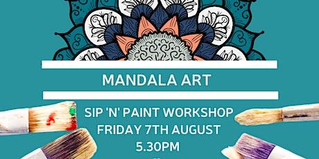 Mandala Art - Sip'n'Paint Workshop tickets