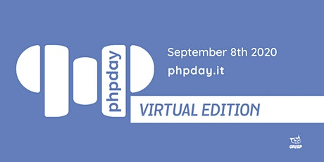 phpday 2020 - Virtual Edition tickets