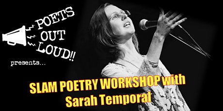 Slam Poetry workshop with Sarah Temporal tickets