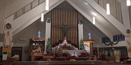 Eucharistic service at 12:30pm Sunday tickets