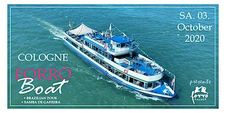 Forró Dance Boat auf dem Rhein - 2° Edition Tickets