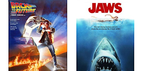 1.) Back to the Future  2.) JAWS tickets