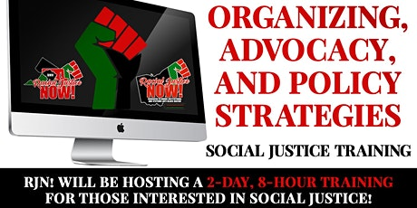 Organizing, Advocacy, Policy Strategies Online Training tickets