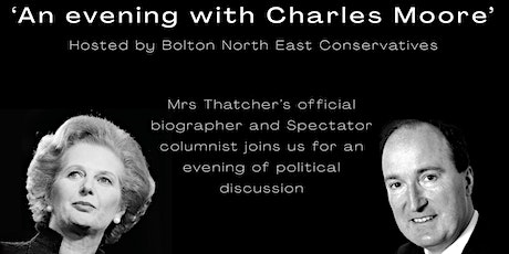 An evening with Charles Moore tickets