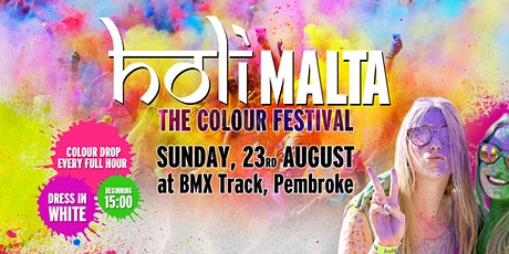 "Holi Malta - Colour Festival: ""Give Back"" Edition (50% Off Tickets) tickets"