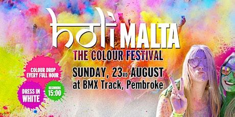 "Holi Malta - Colour Festival: ""Give Back"" Edition (50% Off Tickets) tickets"