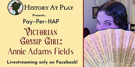 """Pay-Per-HAP """"Victorian Gossip Girl"""" Watch Party tickets"""