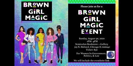 Brown Girl Magic Brunch: Politics, Government and Law. tickets