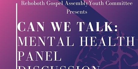 Can We Talk: Mental Health Panel Discussion tickets