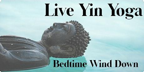 Live Yin Yoga + Meditation for Sleep tickets