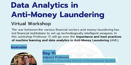 Data Analytics in Anti-Money Laundering Workshop tickets