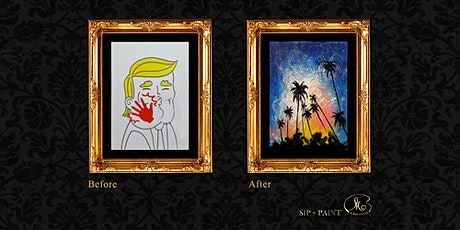 Sip and Paint (Special for Release Stress) : Palm Tree (Friday) tickets