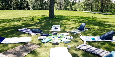 OUTDOOR Restorative Yoga with Reiki Healing - August 30 tickets