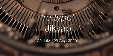 TSH & Jiksap - re : type, antique typewriter workshop tickets