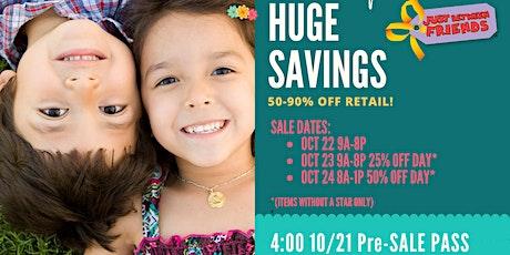 Sugar Land JBF Fall 2020 Huge Kids/Maternity Event: Exclusive FREE PreSale tickets