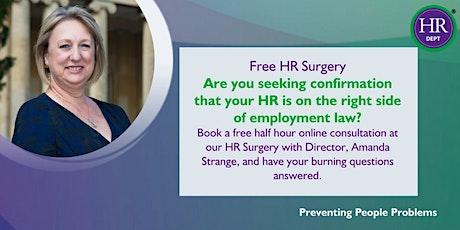 HR Surgery - Free Half Hour Consultation tickets