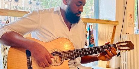 Cours collectif de guitare AFRO billets