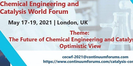 Chemical Engineering and Catalysis World Forum tickets