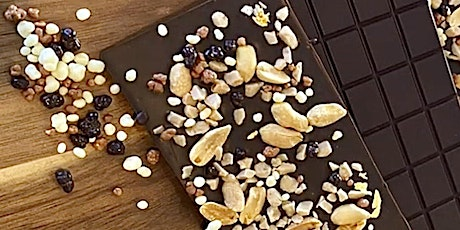 CRUNCHY CHOCOLATE MAKING BAR  CLASS by Virginia Chocolat tickets