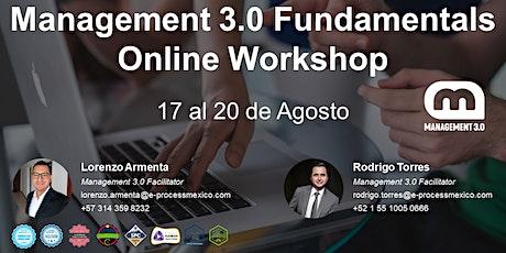 Management 3.0 Fundamentals Online Workshop biglietti