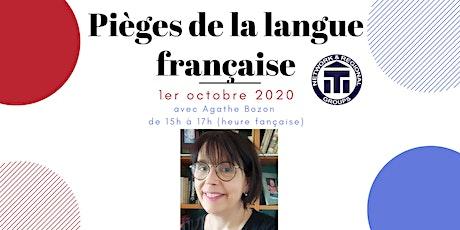 Pièges de la langue française billets