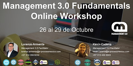 Management 3.0 Fundamentals Online Workshop entradas
