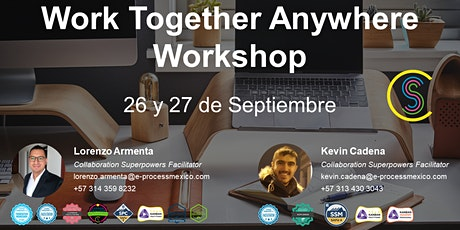 Work Together Anywhere Workshop entradas