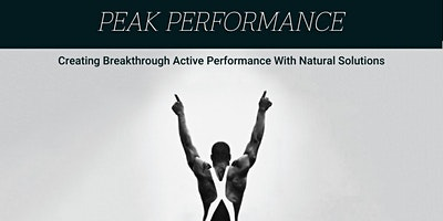 Peak Performance (Free Webinar)
