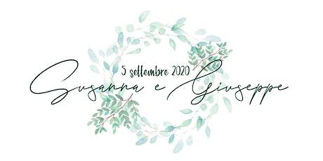 Matrimonio Susanna e Giuseppe biglietti