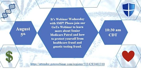 Webinar Wednesday with SMP: Genetic Testing Fraud & Scams tickets