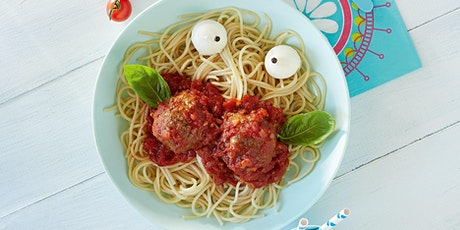 Kids Cooking - Pasta and Meatballs - Interactive Workshop (Virtual) tickets