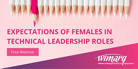 Expectations of Females in Technical Leadership Roles tickets