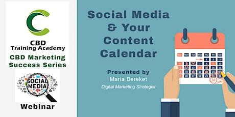 CBD Marketing Success - Social Media & Content Marketing tickets